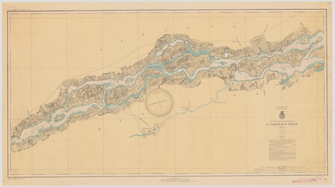 St. Lawrence River Chart #1 - 1935