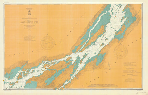 St. Lawrence River Chart #5 - 1904