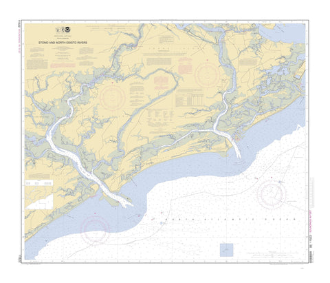 Stono and North Edisto Rivers Map - 2010