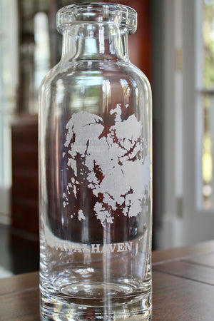 Vinalhaven Engraved Glass Carafe