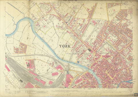 York England Map 1892