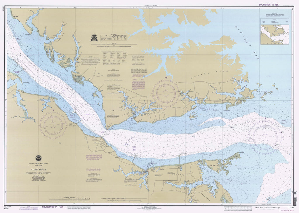 York River Map 1995