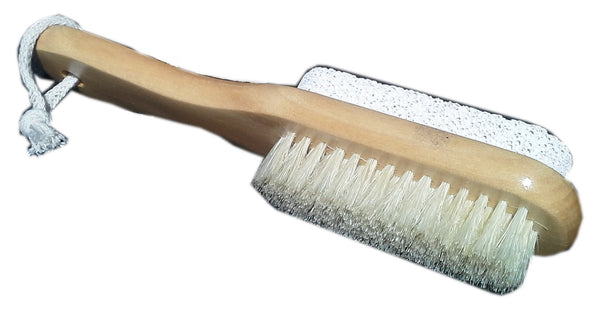 Foot Scrub Brush with Pumice Stone