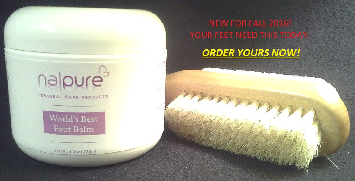 World's Best Foot Balm & Brush