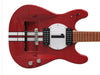 GT40 Classic Guitar - Single Inset - Red