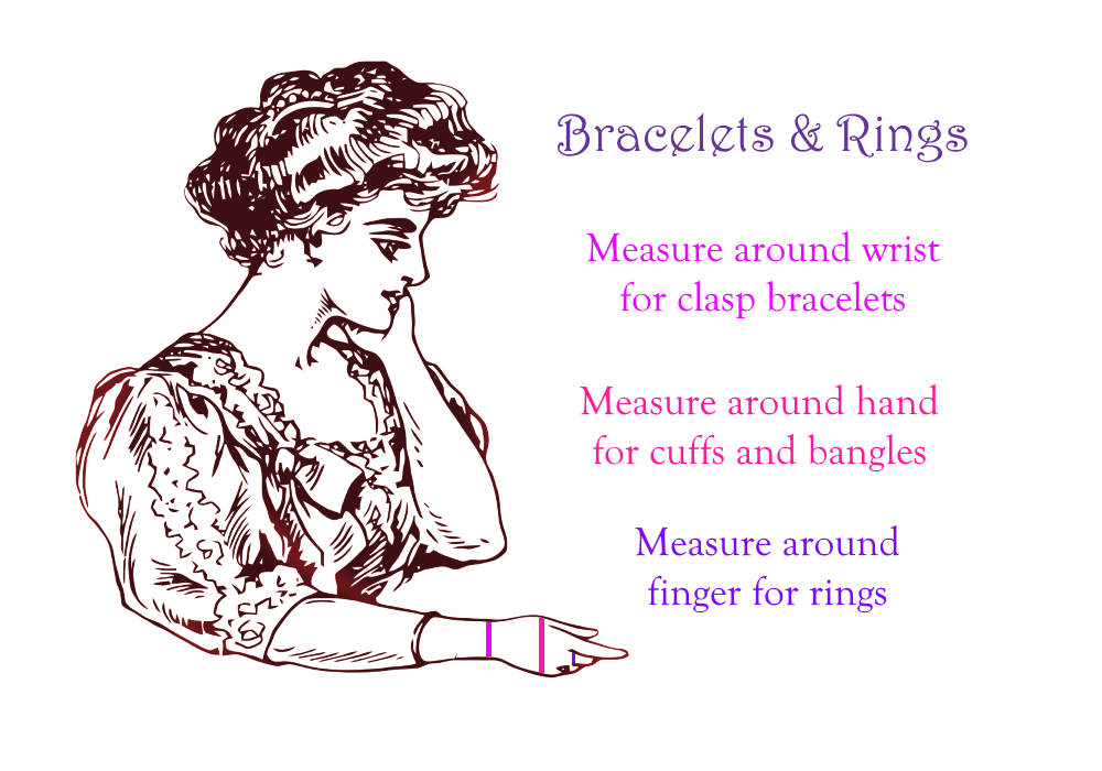 Bracelet & Ring Measuring Guide
