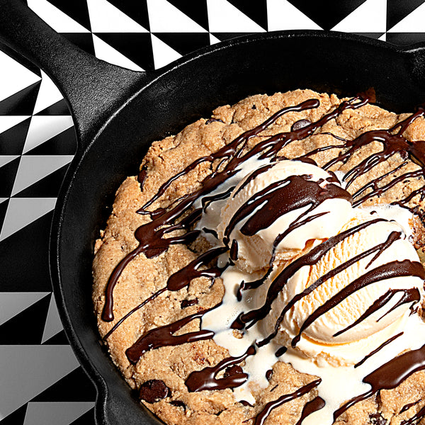 Paleo Chocolate Chip Cookie Skillet