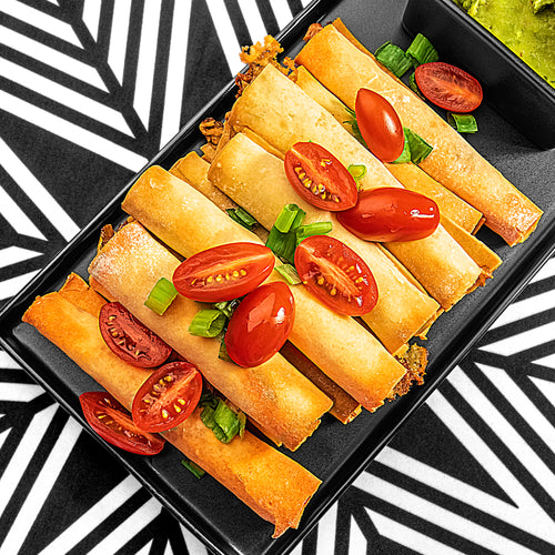 Baked Chili Lime Chicken Taquitos (Paleo)
