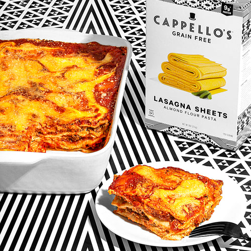 Paleo Lasagna Made With Mock-Ricotta