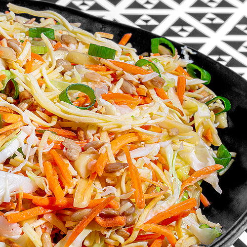 Crunchy Spaghetti Asian Salad