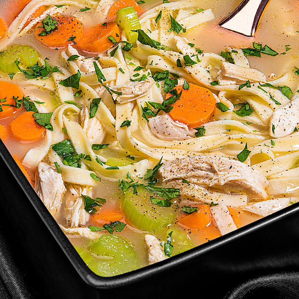 Easy Paleo Chicken Noodle Soup