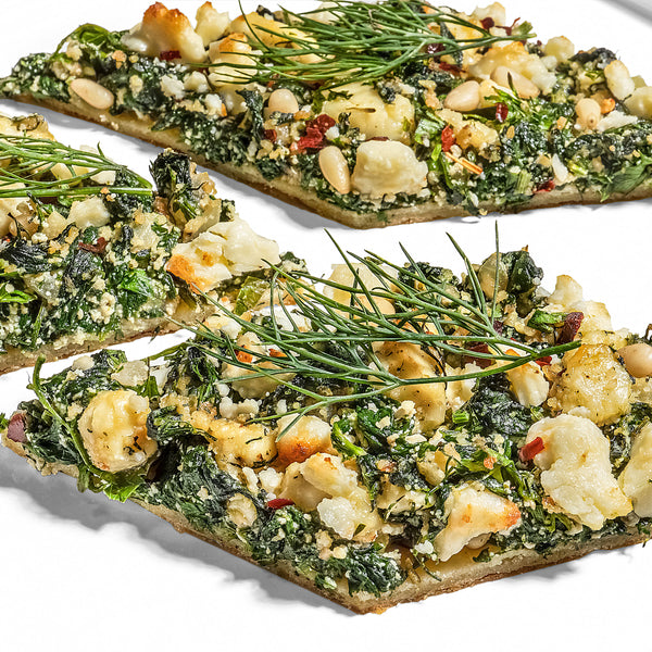 Spanakopita Pizza (Plant Paradox friendly)