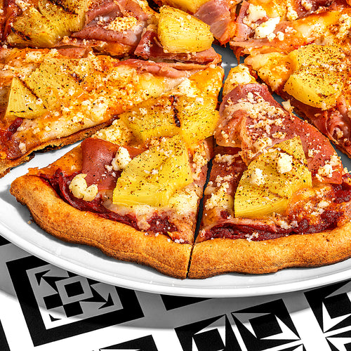 Grilled Spanish Hawaiian Pizza