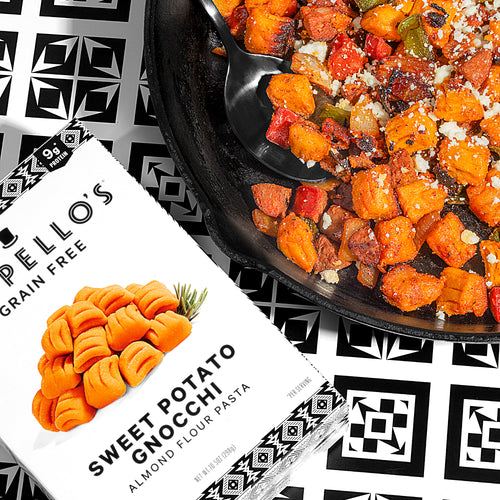 Spicy Sweet Potato Gnocchi with Chorizo