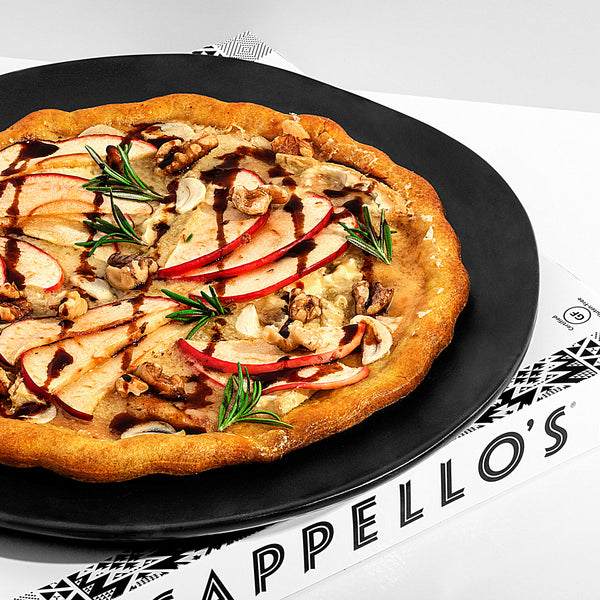 Apple + Brie Pizza with Roasted Walnuts