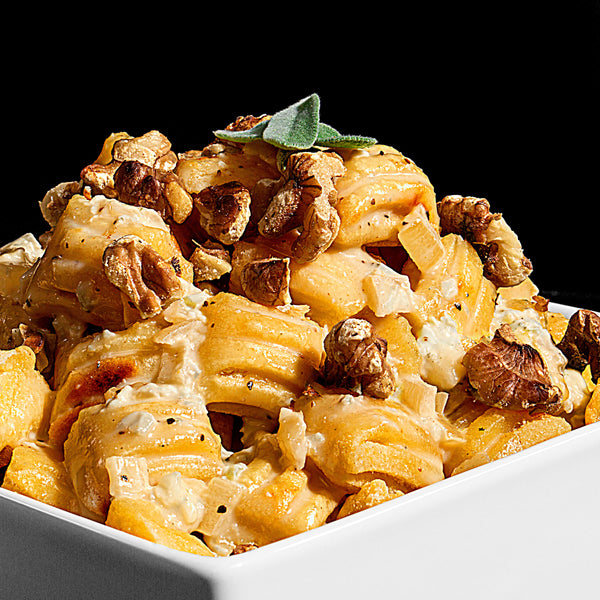 Quick and Easy Gorgonzola Cream with Gnocchi and Walnuts