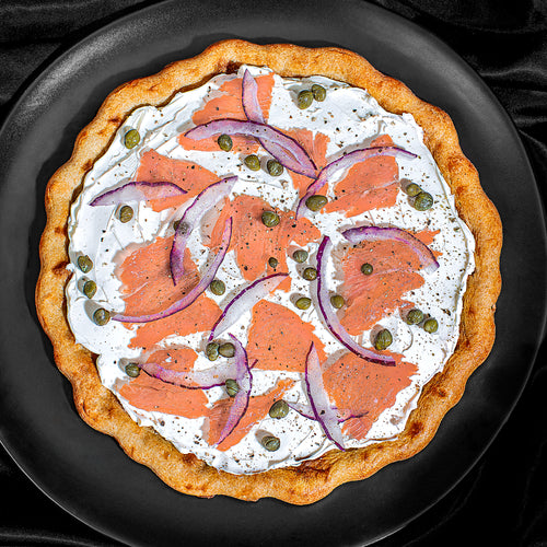 Lox Breakfast Pizza
