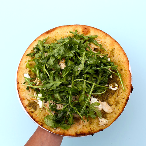 Summer Pesto Pizza
