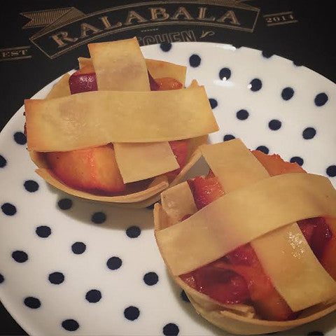 Wee Peach Pies by: RalaBala