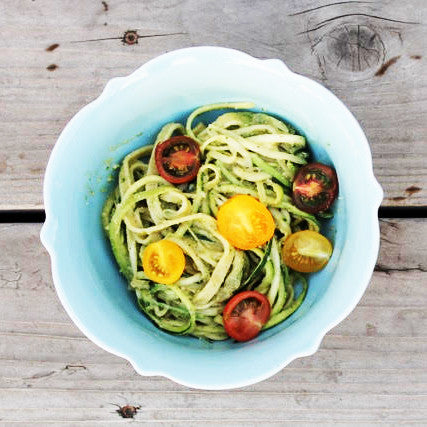 Cappello's Fettuccine with Pesto and Zucchini by: Whole Body Healing
