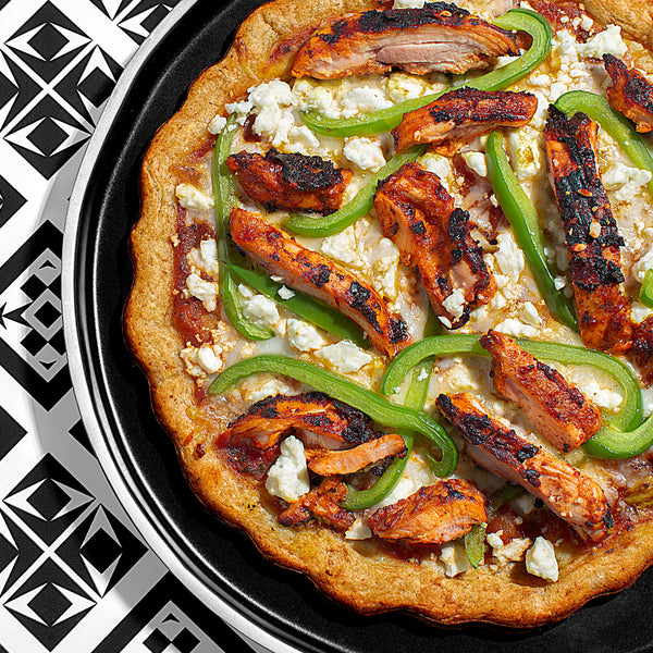 Spicy Tandori Chicken Grilled Pizza