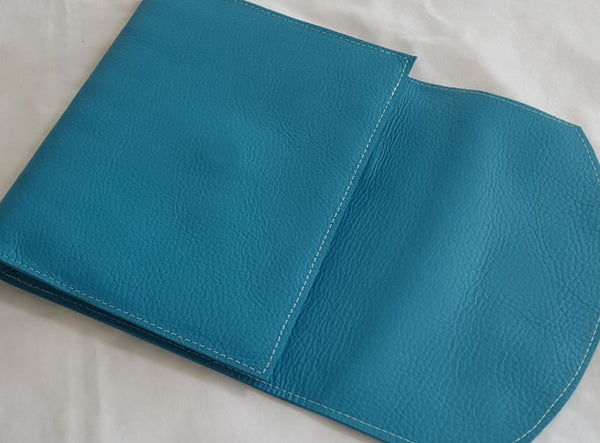 Double Wrap Around Leather Discbound Notebook Cover