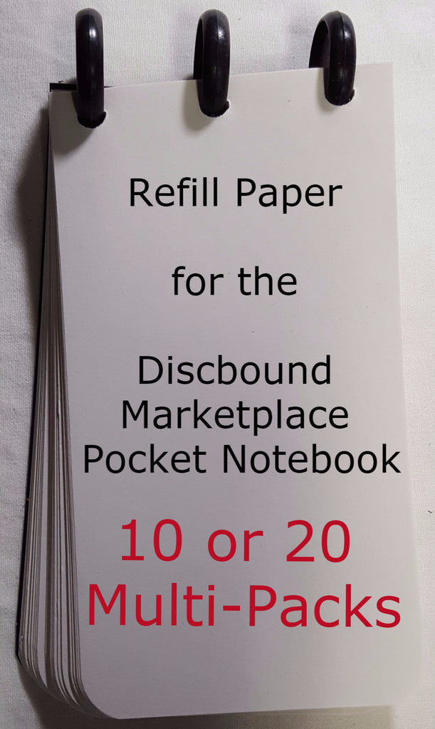 Pocket Notebook Refill Paper Multi-Packs