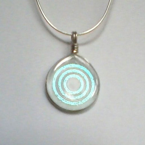 Necklace – Urantia Logo Dichroic Glass Pendant