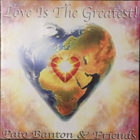 """Love Is The Greatest"" CD - by Pato Banton"