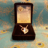 "Necklace Sterling Silver Infinity Heart Pendant w/18"" Chain"
