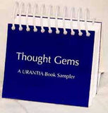 "Calendar - ""Thought Gems"" from The URANTIA Book / Perpetual"