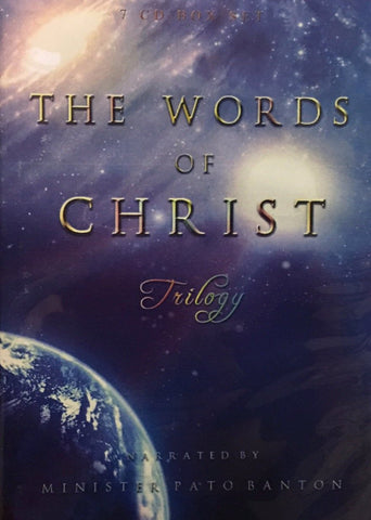 """Words of Christ"" Trilogy 7 CD Box Set - narrated by Pato Banton"
