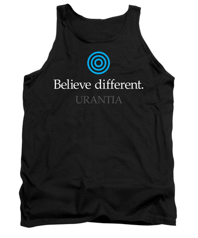 "Tank Top – ""Believe Different Urantia"" (Adult)"