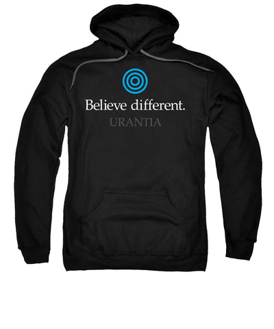 "Sweatshirt – ""Believe Different Urantia"" Hooded (Adult)"