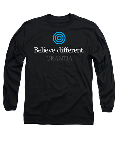 "T-Shirt – ""Believe Different Urantia"" Long-Sleeve (Adult)"