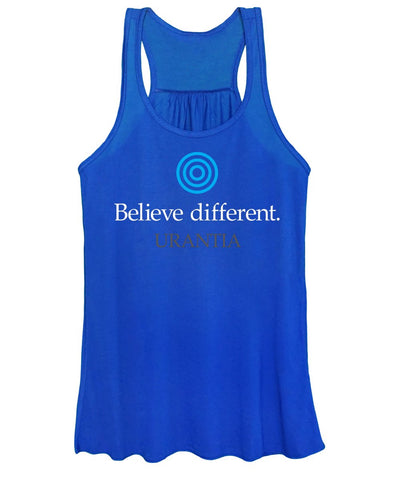 "Tank Top – ""Believe Different Urantia"" (Ladies)"