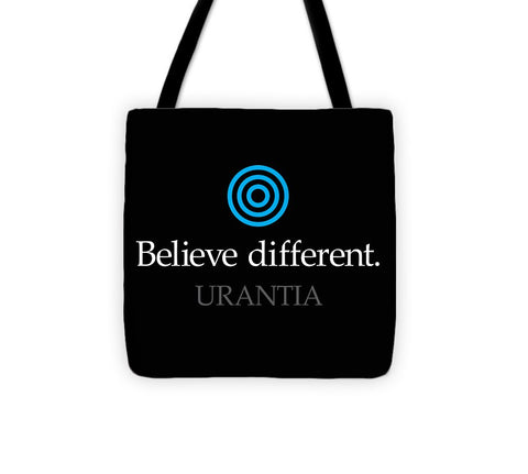 "Tote Bag – ""Believe Different"""
