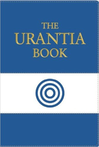 """The Urantia Book"" Blue/White LeatherSoft Edition by Urantia Foundation"