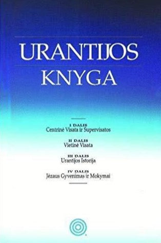 """The Urantia Book"" Lithuanian Edition by Urantia Foundation"