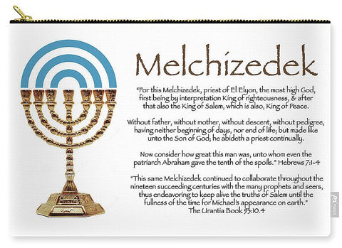 "Carry-All Pouch – ""Melchizedek"""