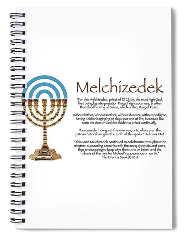 Spiral Notebook - Melchizedek Ⅰ Design