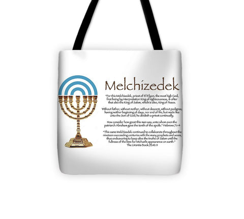 Tote Bag - Melchizedek l Design