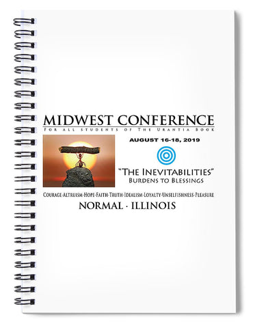 Spiral Notebook - Urantia Midwest Conference