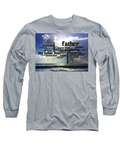 T-Shirt Long Sleeve w/Noble Man Design