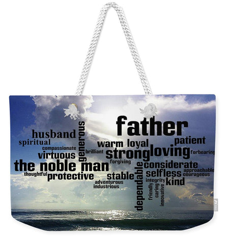 Tote Bag - Weekender Noble Man Design