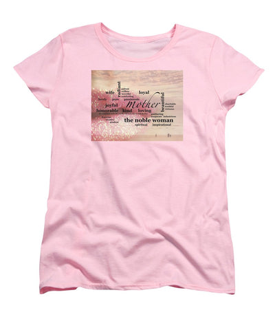 "T-Shirt – ""Noble Woman"" Standard Fit (Ladies)"