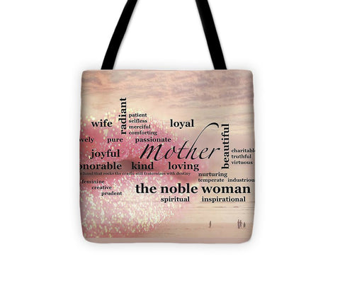 "Tote Bag – ""Noble Woman"""