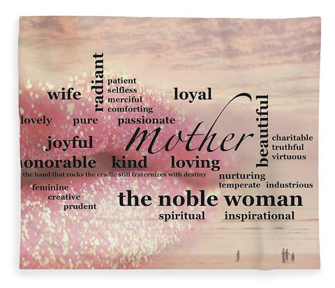 "Blanket – ""Noble Woman"" Design"