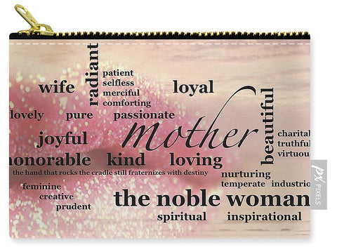 "Carry-All Pouch – ""Noble Woman"""