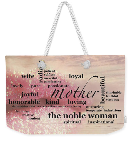 "Tote Bag – Weekender ""Noble Woman"""